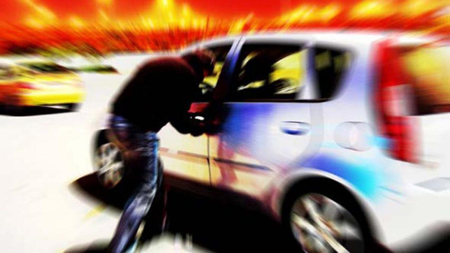 Furto de veículo no bairro Paulo Prata