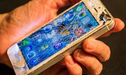Homem tem celular danificado por ex-mulher