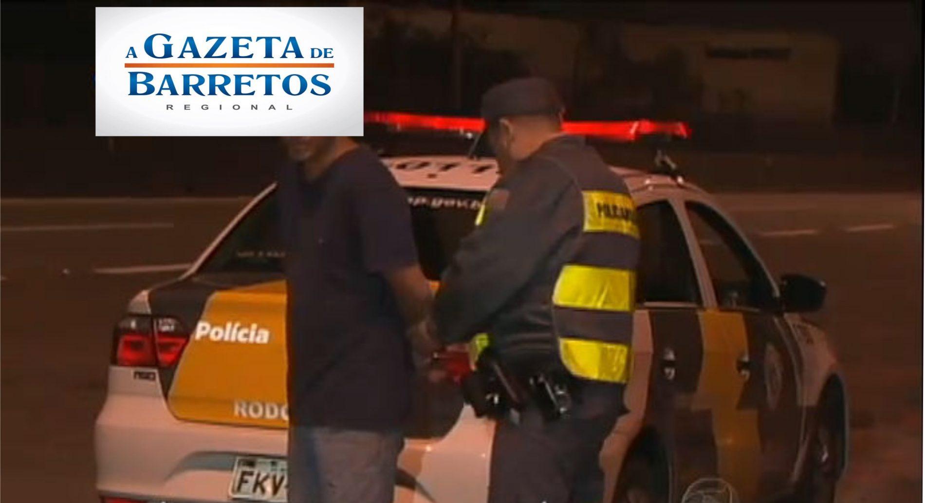 Policia Rodoviária prende motorista por dirigir embriagado