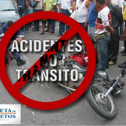 BARRETOS: Acidente entre motos na Rua 12 com Avenida 51