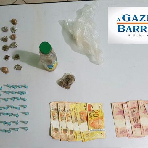 Operação policial detém menor por tráfico de drogas no Dom Bosco