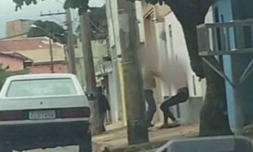 Estudante é agredida na Avenida Messias Gonçalves