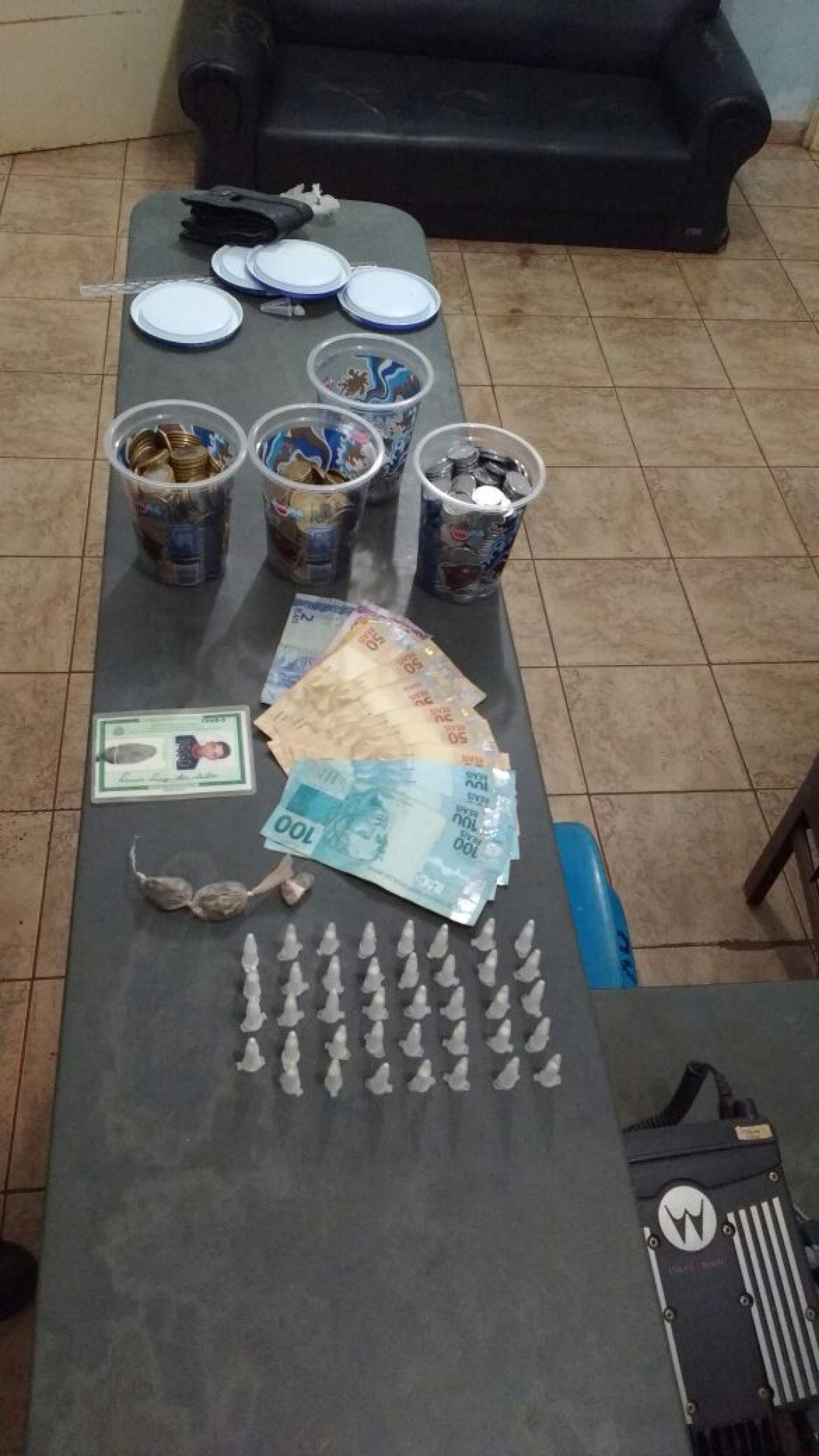 Menor é detido por tráfico de drogas em Guaíra