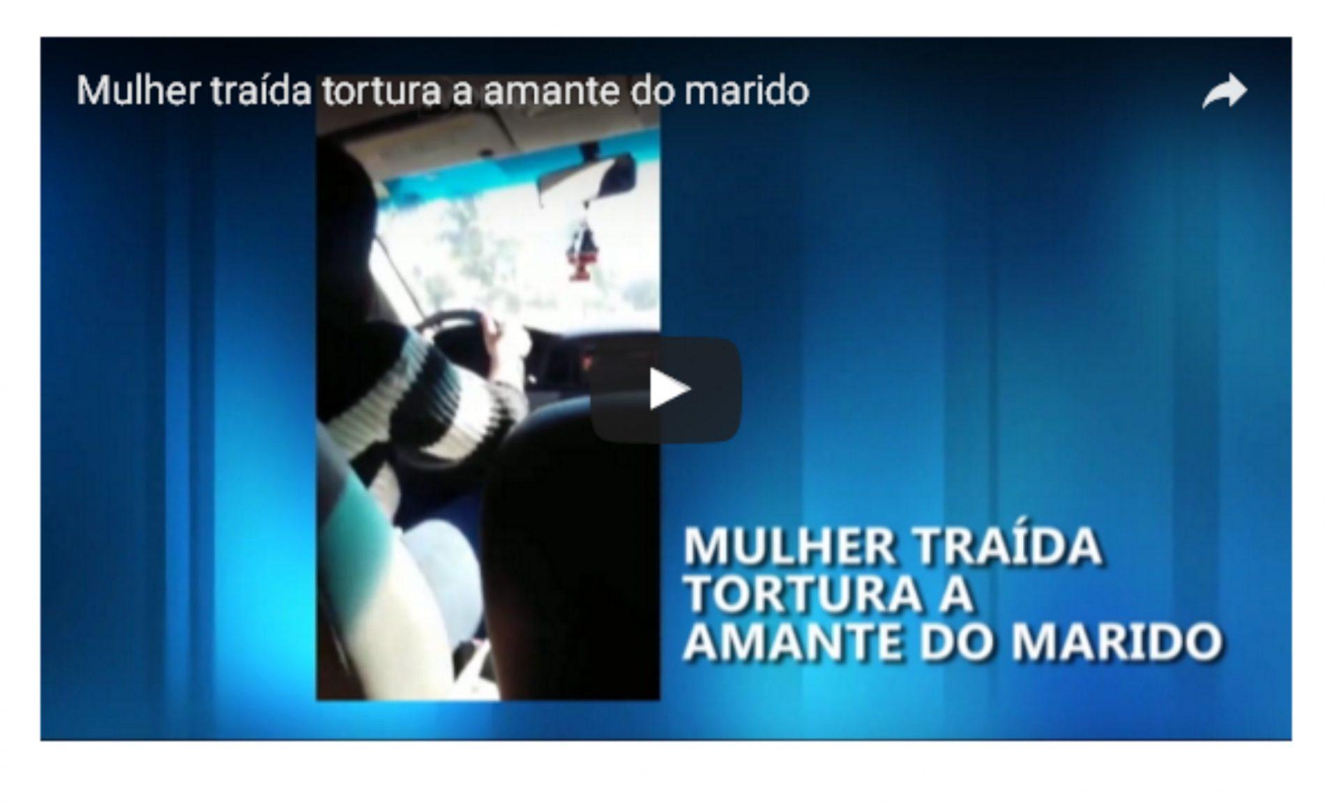 Mulher traída tortura a amante do marido e grava vídeo