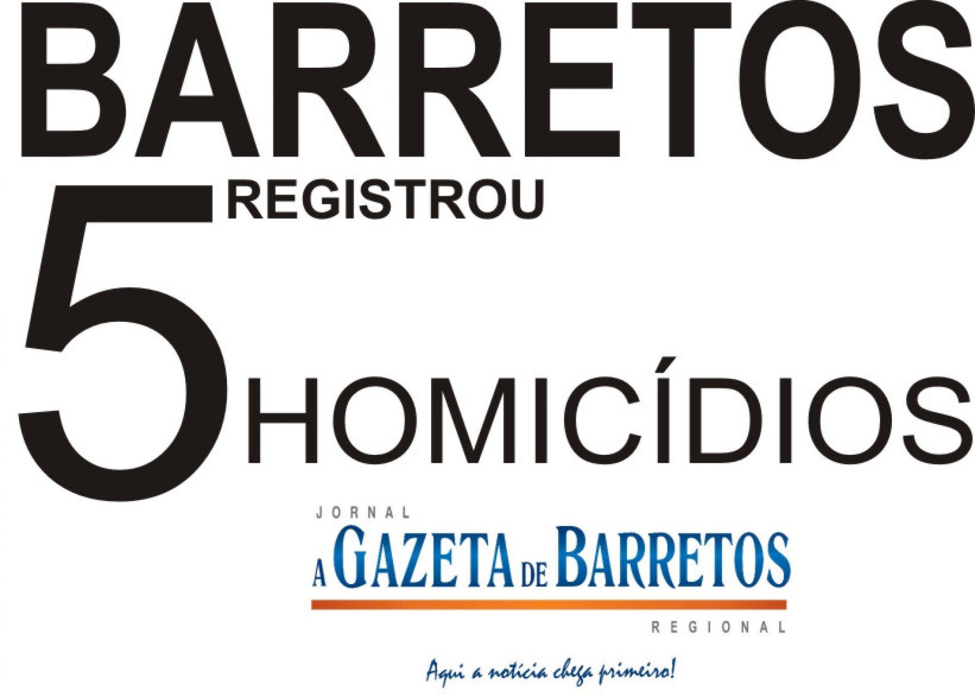 Barretos registrou o quinto homicídio em menos de dois meses