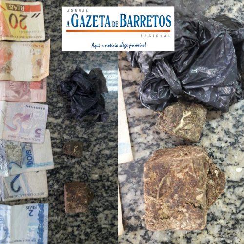 Equipe do Canil apreende menor traficando drogas no bairro Dom Bosco
