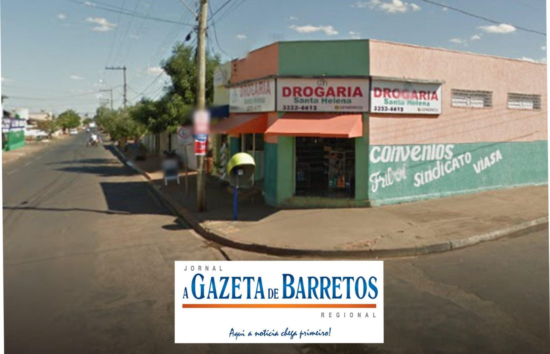 Assalto à mão armada em farmácia no bairro Sumaré