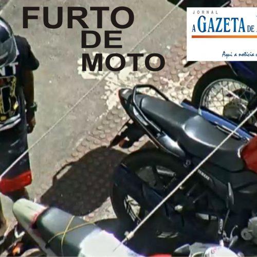 Furto de motocicleta no bairro São Judas Tadeu