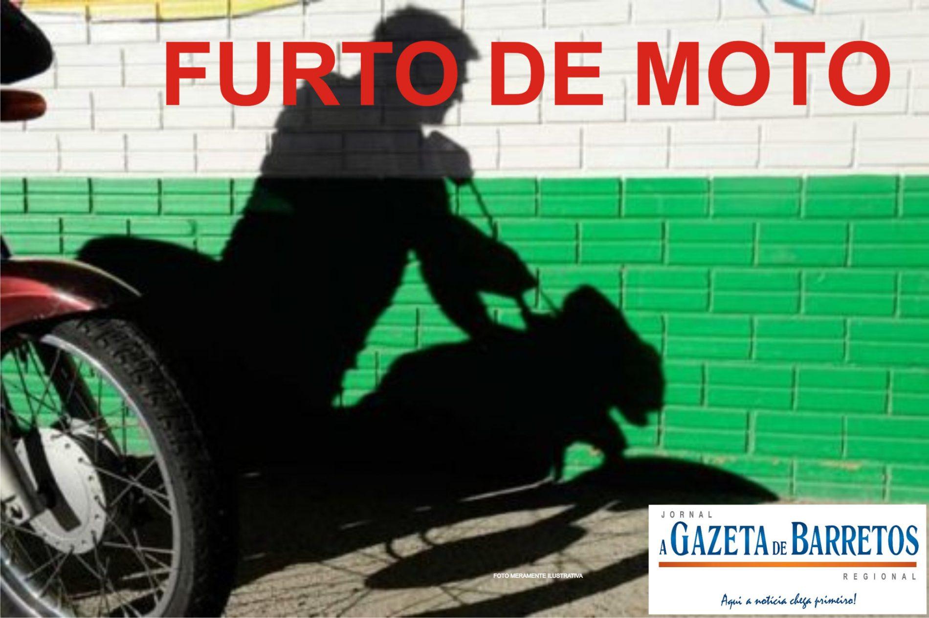 Motocicleta é furtada no bairro São José