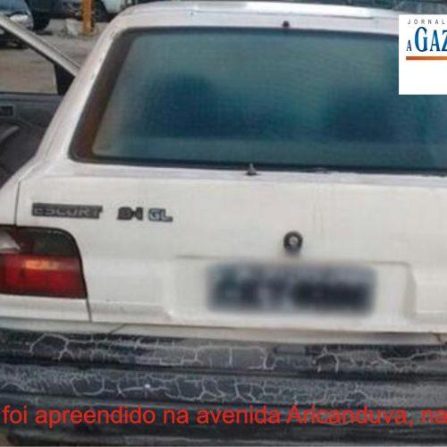 Carro apreendido tem R$ 17 milhões em multas de trânsito