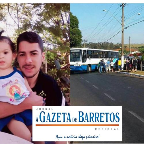 Jovem morre após acidente entre moto e ônibus na Via Conselheiro Antônio Prado