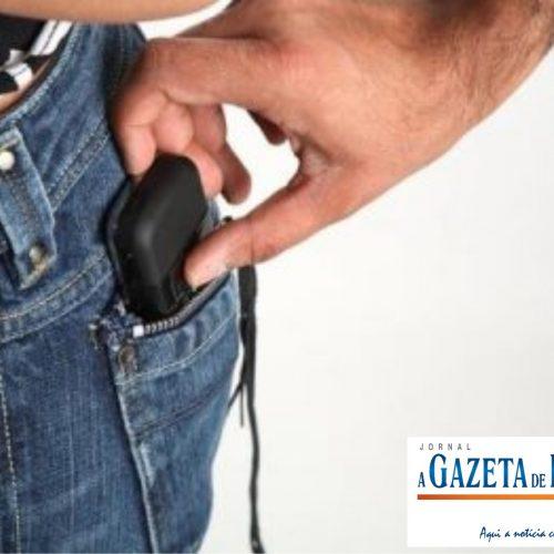 Servente é preso em flagrante por furtar celular no bairro Sumaré