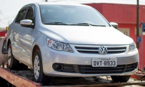 Polícia Rodoviária apreende veículo furtado que havia sido alugado em Campinas