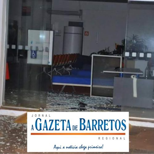 Quadrilha fortemente armada tenta roubar simultaneamente três bancos no centro de Guaíra