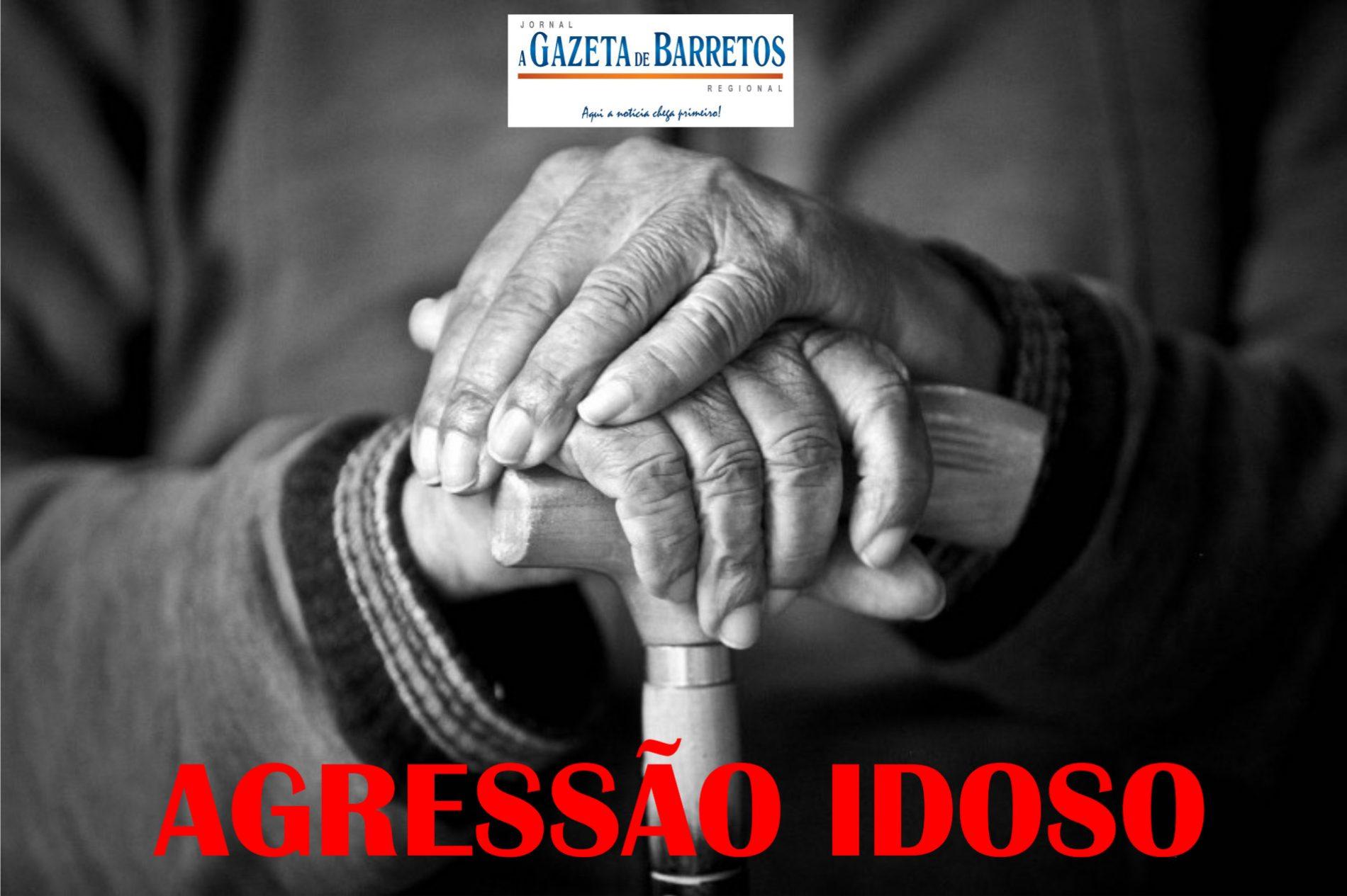 Idoso é agredido pelo filho no bairro Fortaleza
