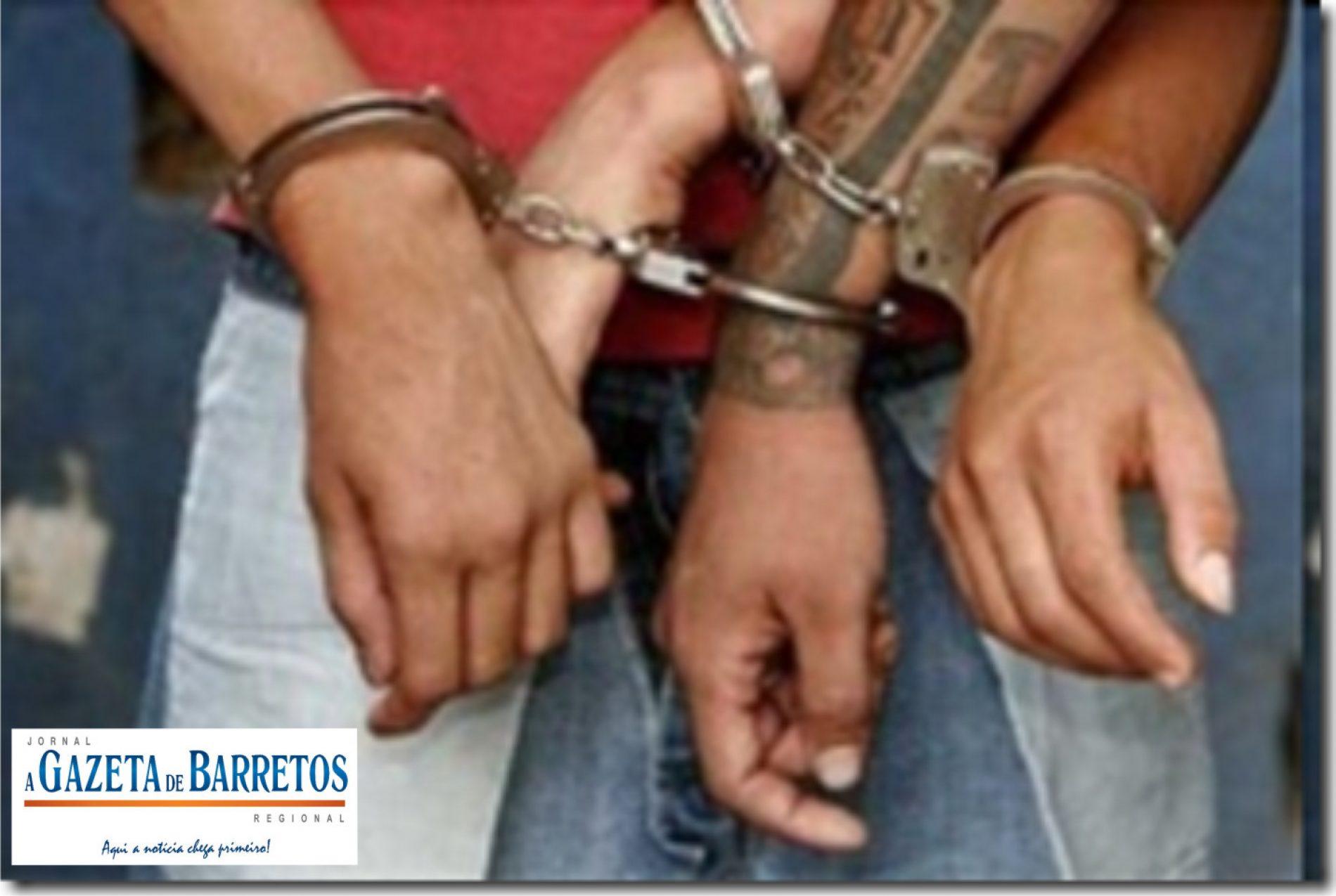 Dois homens acusados de roubos em Barretos e Região são presos pela Policia Militar no bairro Sumaré