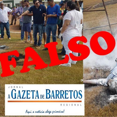 Falsa morte em Barretos é desmacarada