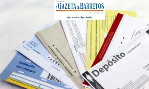Ladrões furtam vários envelopes com cheques e dinheiro em agencia bancária no centro de Barretos
