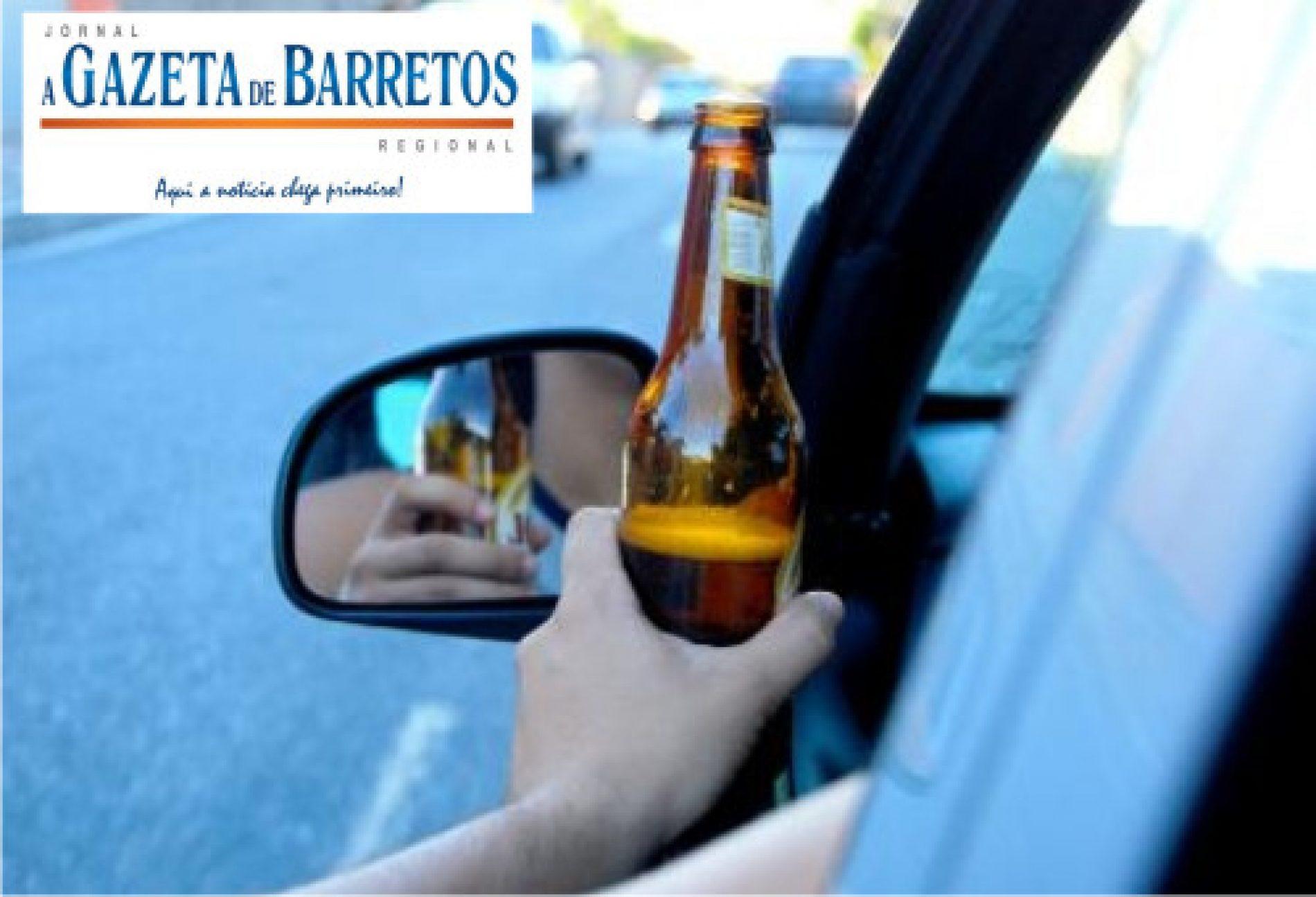 Pedreiro é preso por dirigir embriagado