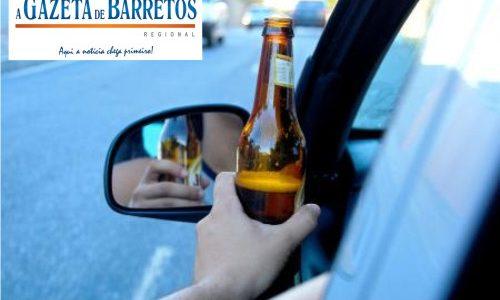 Borracheiro sem Habilitação é preso por dirigir embriagado