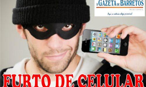 BARRETOS: Musico tem celular roubado quando caminhava pela Avenida 43