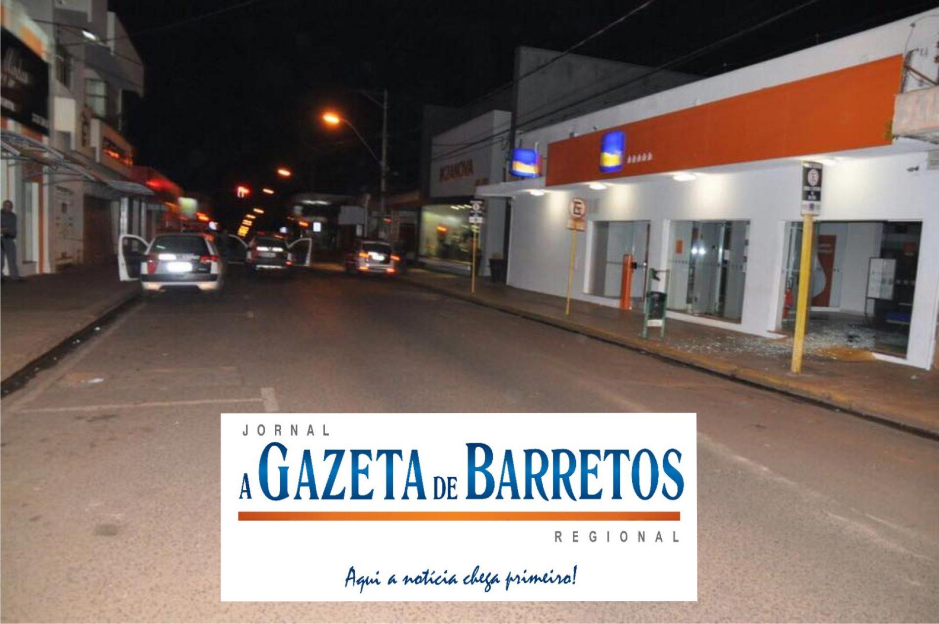 Assalto a banco mais uma vez em Guaíra