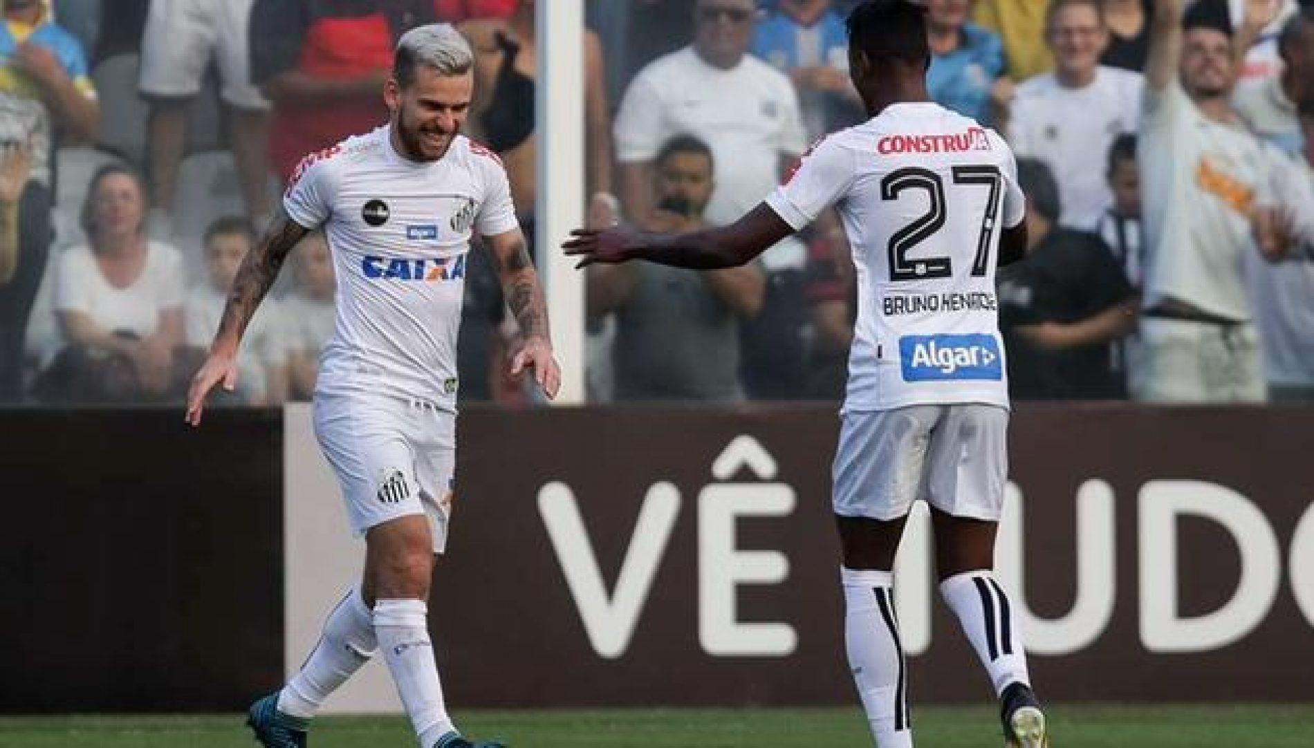 Santos derrota o Corinthians e diminui sua distância para o líder