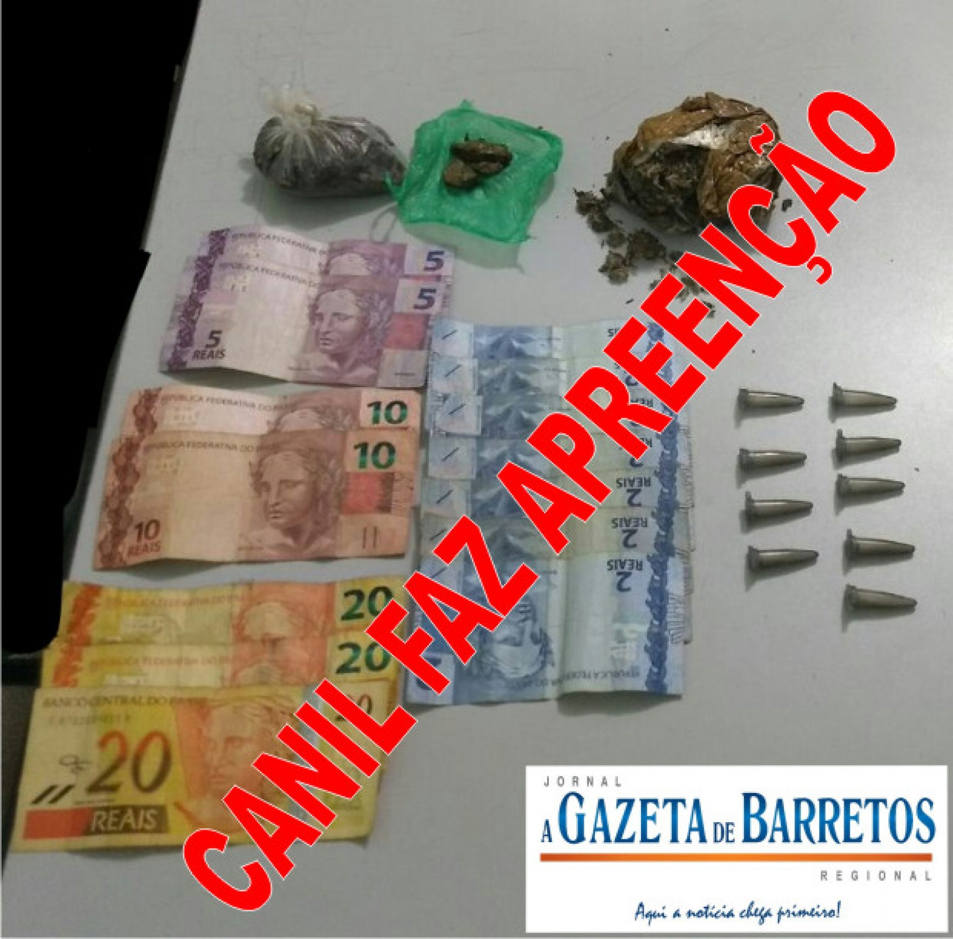 Equipe do Canil prende servente pelo crime de tráfico de drogas no bairro Dom Bosco
