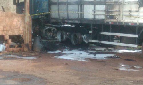 Morre 2 vítimas do acidente do caminhão que explodiu