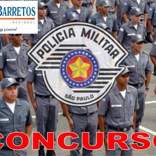 POLÍCIA MILITAR DO ESTADO DE SÃO PAULO ABRE CONCURSO PÚBLICO