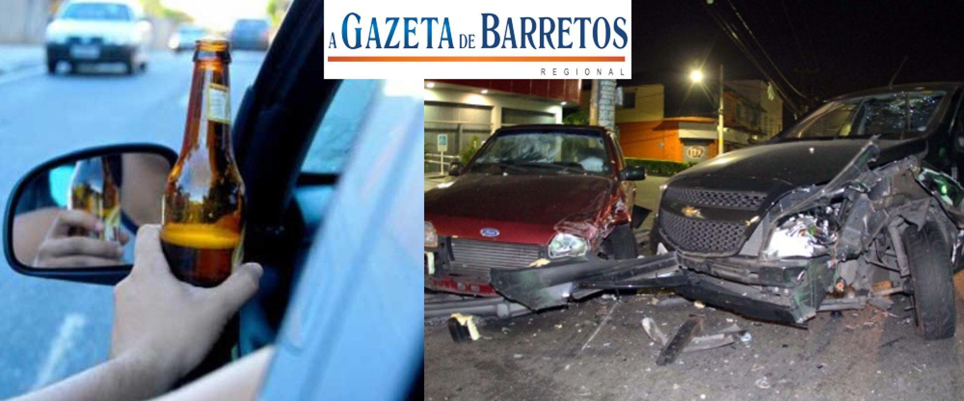 Embriagado homem bate em veículo parado no bairro Novo Horizonte
