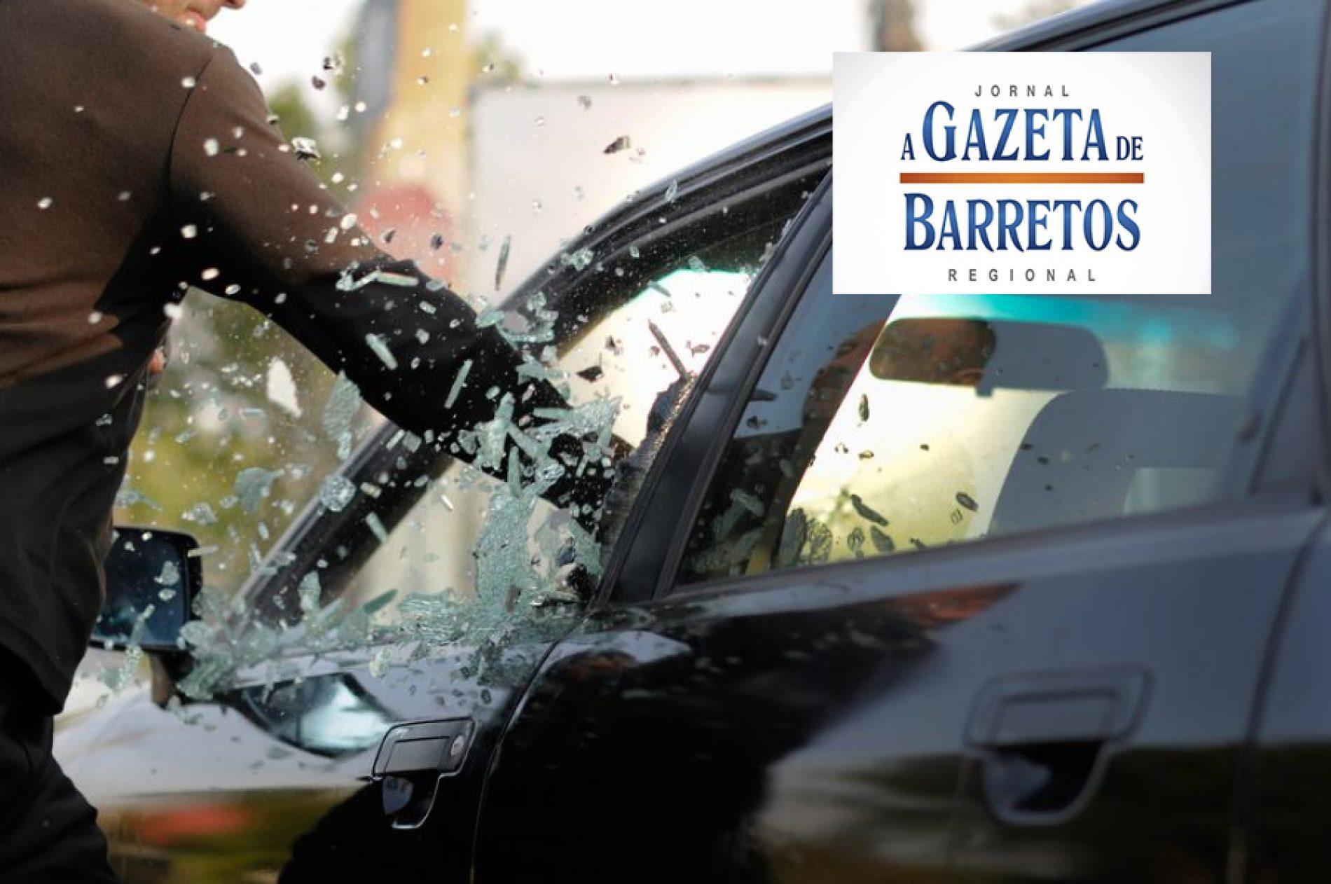 BARRETOS: Furto em interior de veículo na Avenida 47