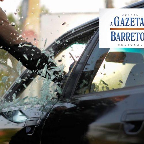 BARRETOS: Carro é furtado no centro da cidade