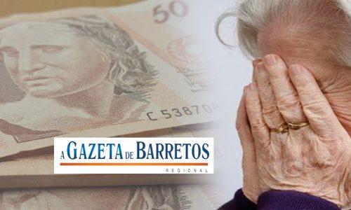 BARRETOS: Idosa tem carteira furtada e acumula prejuízo de R$4500.00