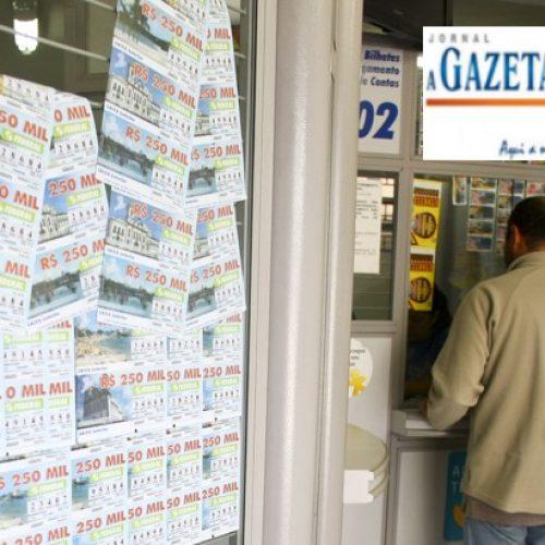REGIÃO: Ladrões amarram vigilante, quebram vidros e deixam lotérica sem funcionar