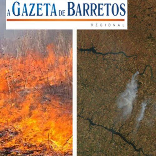 Incêndio causado por fogos de artifício durante evento de entrega das casas no Vida Nova Barretos
