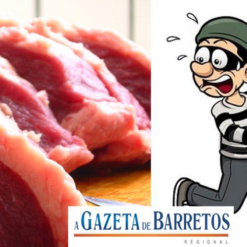 Região: Açougueiro oferece 10 kg de carne por pistas de ladrões