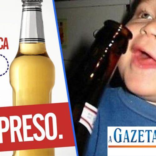 Conselho Tutelar flagra menores vendendo e consumindo bebidas alcoólicas em festa
