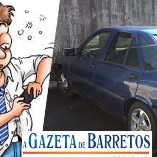 Homens são abordados, um deles embriagado, dirigindo veículo suspeito de ser furtado