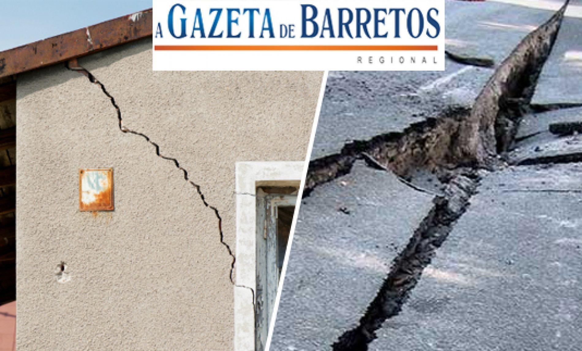 Tremores de terra assustam os Brasileiros