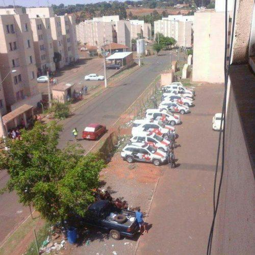 BARRETOS: Mega operação da Policia Militar nos Predinhos(Luiz Spina) coloca vários atrás das grades