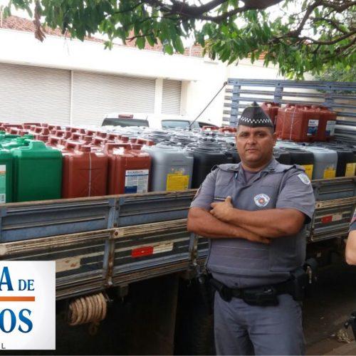 BARRETOS: Policia Militar recupera mercadorias roubada em barracão no bairro Centro