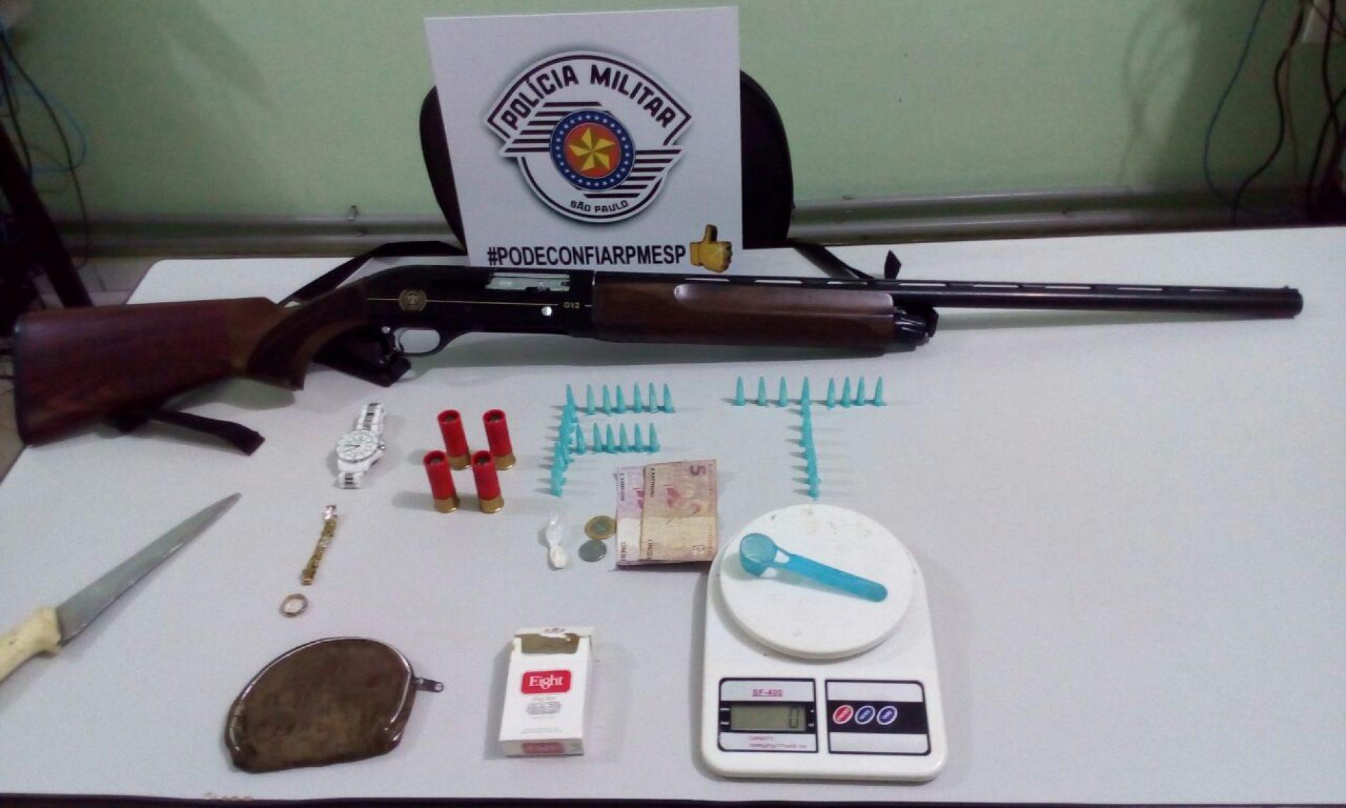 NOTICIAS POLICIAIS: Operação Policial prende dois e apreende drogas, armas, dinheiro e outros objetos em apartamento do Luís Spina