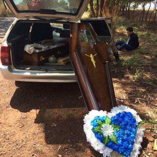 REGIONAL: Falsa viatura funerária é encontrada carregada de drogas
