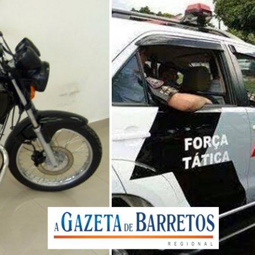 BARRETOS: Morador em Guaíra,  que é MENOR foi detido furtando moto