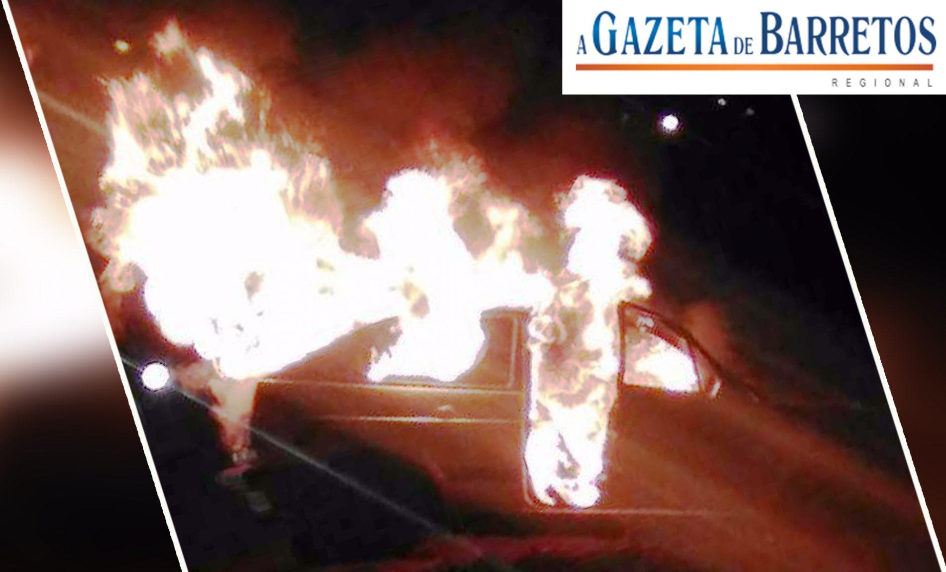 Porto Ferreira: Embriagado, motorista atropela criança e tem veículo queimado por populares
