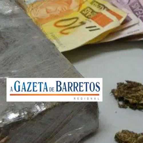 BARRETOS: Canil apreende menor com porções de maconha em pacote de bolacha