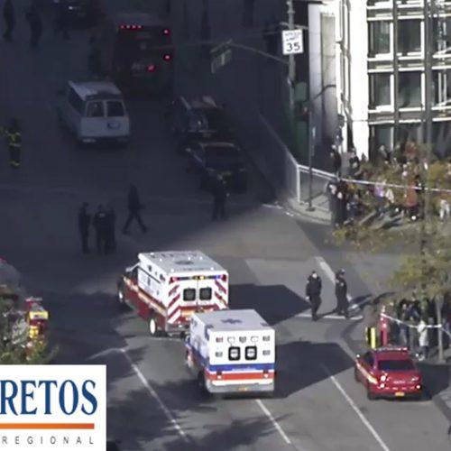 Veículo atropela 'múltiplas' pessoas em Nova York; segundo a polícia, há vários mortos e feridos