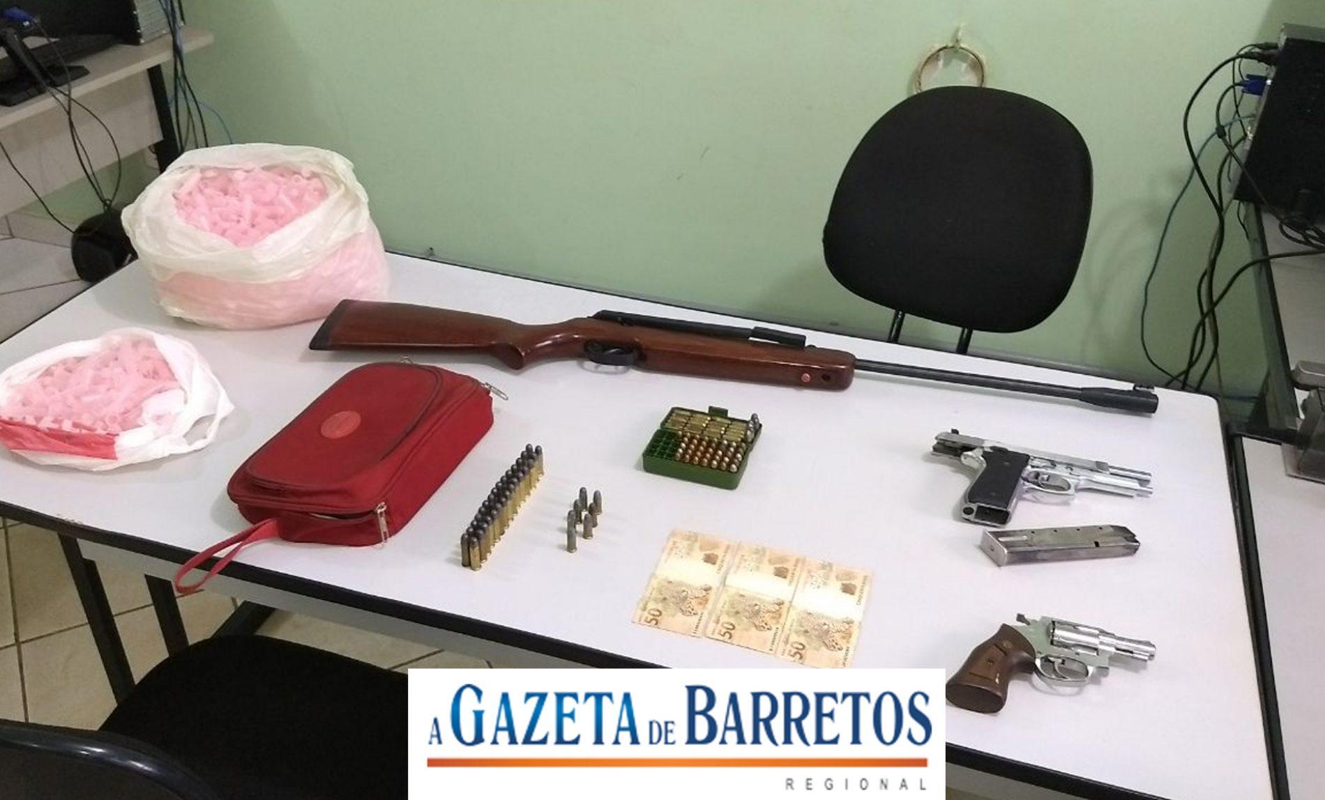 Barretenses são presos em flagrante tentando furtar agência bancária na cidade de Pitangueiras