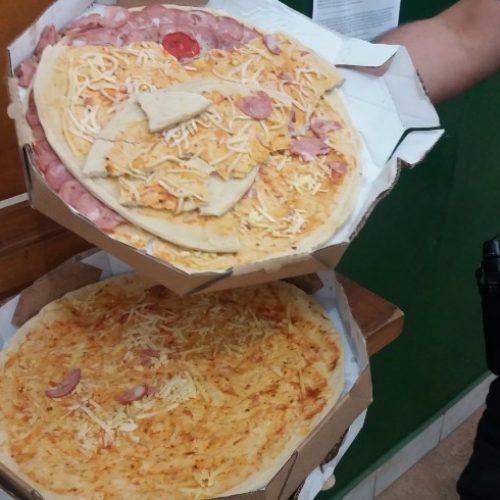 REGIONAL: Preso por furtar pizzas diz: 'estava com fome'